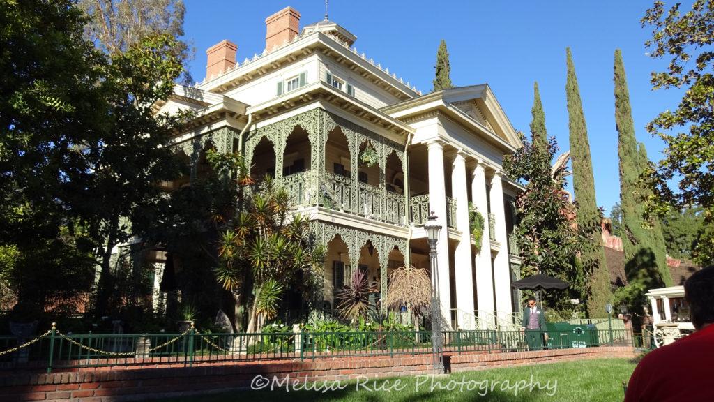 Haunted Mansion Disneyland. Disability treatment