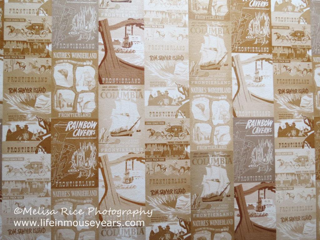 Secrets About Disneyland Bathrooms. Bathroom. Wallpaper