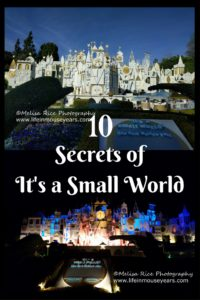 pinterest pin 10 secrets of it's a small world.