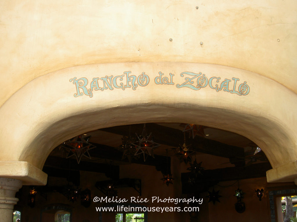 Rancho del Zocalo Disneyland. Dining Tips.