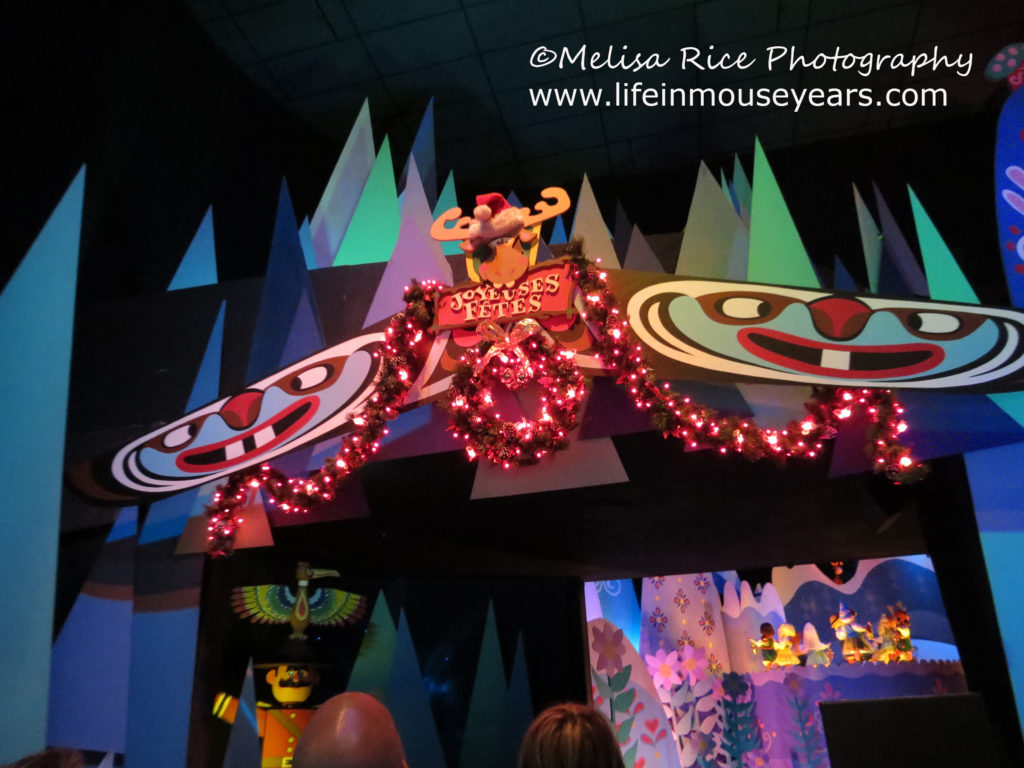 The inside of It's a Small World Holiday. Secrets of It's a Small World.