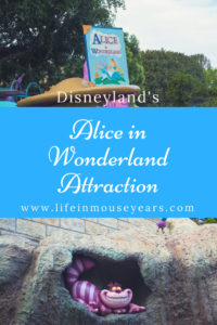 Disneyland's Alice in Wonderland Attraction