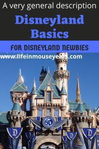 Disneyland Basics www.lifeinmouseyears.com #lifeinmouseyears #disneyland