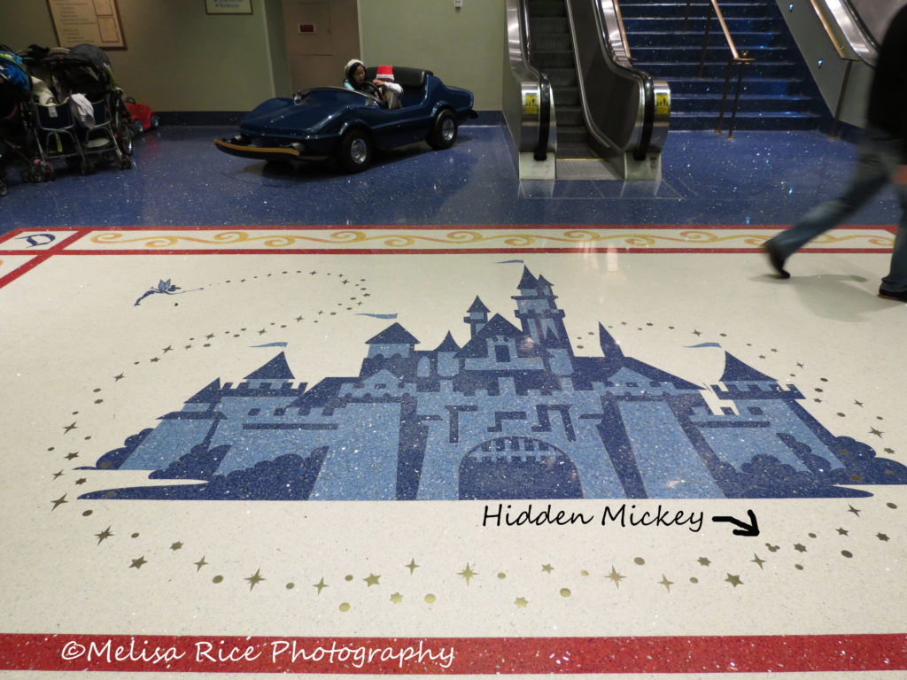 What are Hidden Mickey's at the Disneyland Resort.