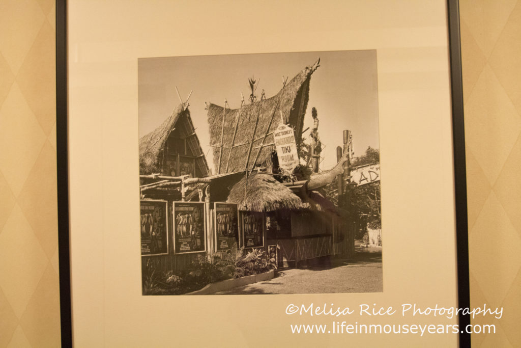 A picture of the original entrance to the Tiki Room.