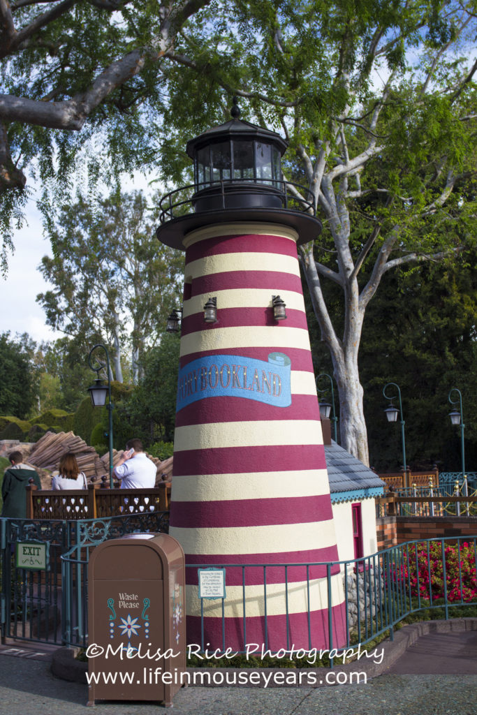 Storybook Land Canal Boats. Disneyland. Opening day attraction.