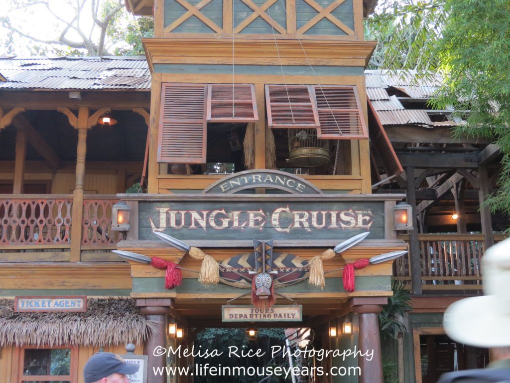 Jungle Cruise. Disneyland. Opening day attraction.