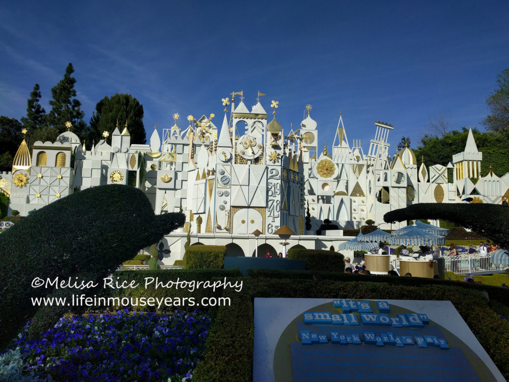 It's a Small World in Disneyland.