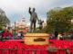 Partners statue Disneyland. Discovering statues around Disneyland.