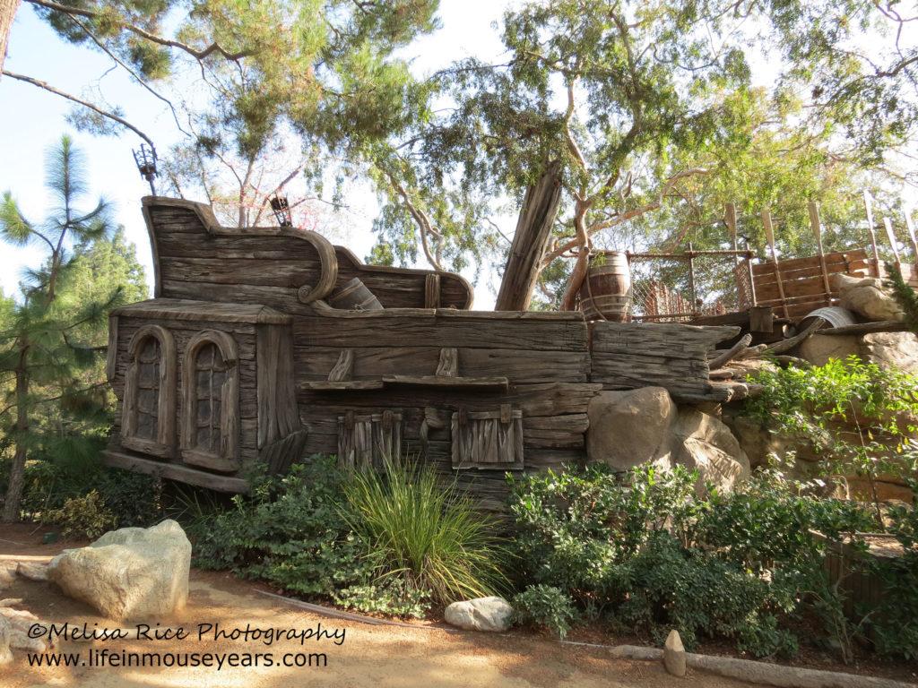 Explore Pirate's Lair on Tom Sawyer Island Disneyland.