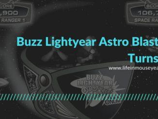 Buzz Lightyear Astro Blasters Turns 13
