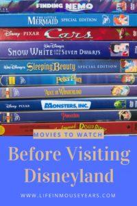 Movies to Watch Before Visiting Disneyland.