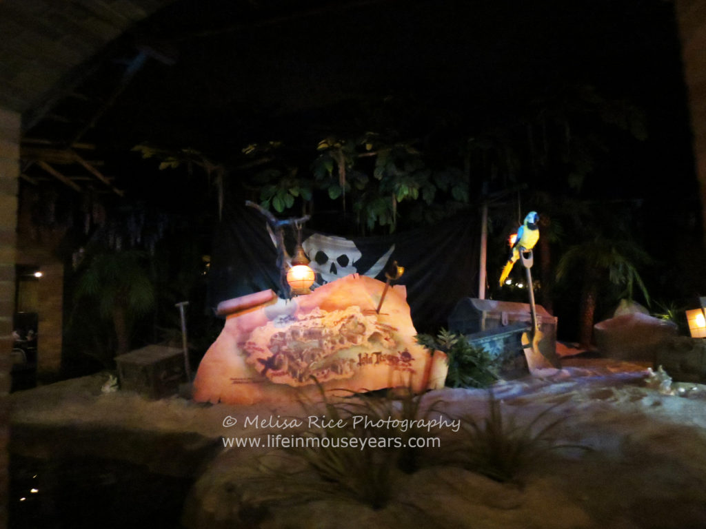 Pirates of the Caribbean Disneyland turns 51. Island.