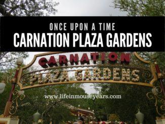 Once Upon a Time Carnation Plaza Gardens Disneyland
