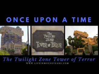 Once Upon a Time The Twilight Zone Tower Of Terror