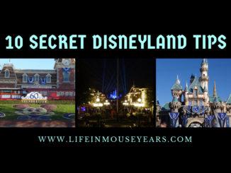 10 Secret Disneyland Tips