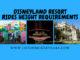 Disneyland Resort Rides Height Requirements