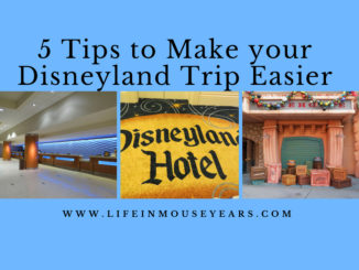 5 Tips to Make your Disneyland Trip Easier Life in Mouse Years #disneyland #disneylandhotel #grandcalifornianhotel #paradisepier #california #disney #familyvacation