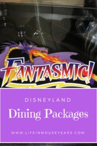 Disneyland Dining Packages. lifeinmouseyears.com #disneyland #disneydining #disney #food #california