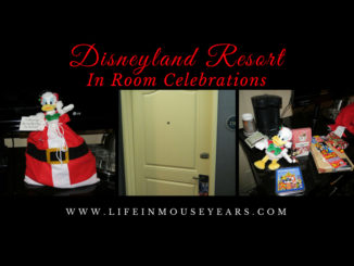 Disneyland Resort In-Room Celebrations Life in Mouse Years #disneyland #disneylandresort #california #celebrate #familyvacation