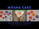 Moana Cake Gumpaste Pieces. Life in Mouse Years. #cake #yummy #homemade #moana #yum #disney