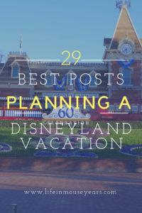 29 Best Posts Planning a Disneyland Vacation. www.lifeinmouseyears.com #disneyland #disney #disneylandafterdark #nighttimedisneyland #california #familyvacation