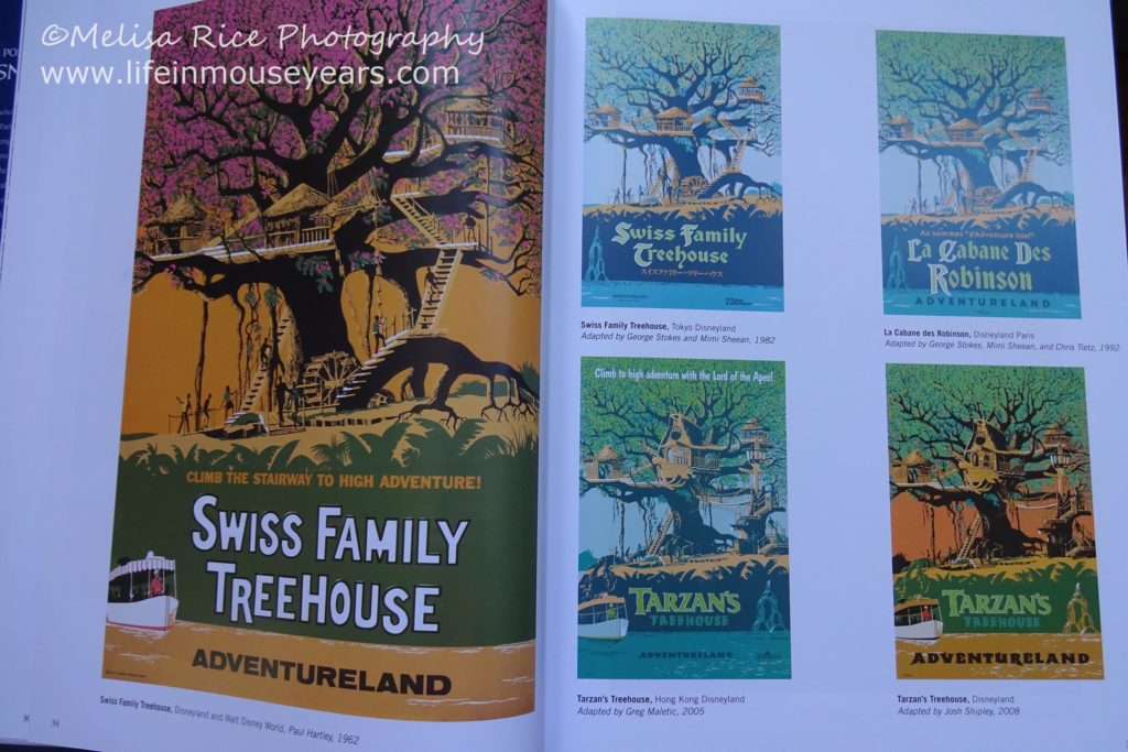 Book Review Poster Art of the Disney Parks www.lifeinmouseyears.com #disney #disneyland #disneyworld #california #disneyparks #disneybooks #reading