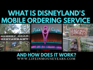 What is Disneyland's Mobile Ordering Service and How Does it Work? www.lifeinmouseyears.com #disneyland #vacation #disneysmobileorderingservice #mobileorder #disneyparks #california