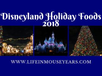 Disneyland Holiday Foods. Life in Mouse Years. #disneyland #california #travel #disney #mainstreetusa #holiday #disneyparks #disneyfoods #dsineyholidaytreats
