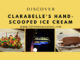 Discover Clarabelle's Hand-Scooped Ice Cream www.lifeinmouseyears.com #lifeinmouseyears #dca #californiaadventure #clarabelles #icecream #food #yumm #yummy