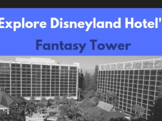 Explore Disneyland Hotel's Fantasy Tower www.lifeinmouseyears.com #disneylandhotel #california #lifeinmouseyears #fantasytower