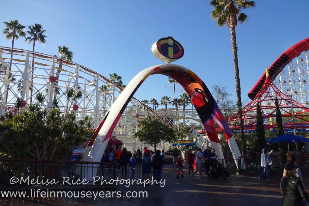 Exploring Pixar Pier www.lifeinmouseyears.com #lifeinmouseyears #pixarpier #californiaadventure #incredicoaster #rollercoaster #incredibles