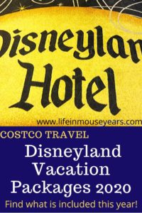 Costco Disneyland Vacation Packages 2020