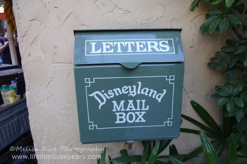 www.lifeinmouseyears.com #lifeinmouseyears #disneyland #adventureland #mailboxes