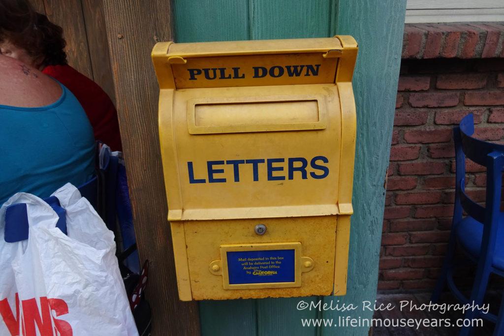 www.lifeinmouseyears.com #lifeinmouseyears #mailboxes #californiaadventure #pacificwharf
