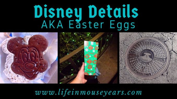 Disney Details aka Easter Eggs www.lifeinmouseyears.com #lifeinmouseyears #disney #disneydetails #disneyland