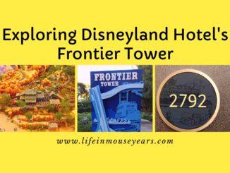 Exploring Disneyland Hotel's Frontier Tower www.lifeinmouseyears.com #lifeinmouseyears #disneylandhotel #fortwilderness
