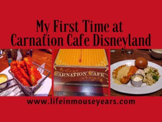 My First Time at Carnation Cafe Disneyland www.lifeinmouseyears.com #lifeinmouseyears #disneyland #carnationcafe #yum #yummy #food #desserts #disneyparks #disneydining