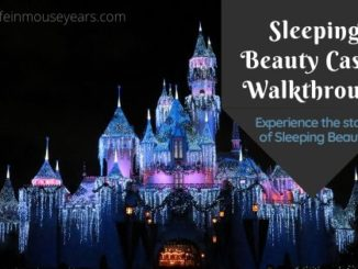 Sleeping Beauty Castle Walkthrough www.lifeinmouseyears.com #lifeinmouseyears #disneyland #sleepingbeautycastle