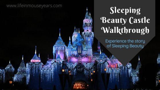 Sleeping Beauty Castle Walkthrough www.lifeinmouseyears.com #lifeinmouseyears #disneyland #sleepingbeautycastle
