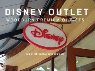 Disney Outlet at Woodburn Premium Outlet www.lifeinmouseyears.com #lifeinmouseyears #disneyoutlet #woodburnpremiumoutlets