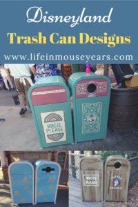 Disneyland Trash Can Designs www.lifeinmouseyears.com #lifeinmouseyears #disneytrashcans #disneydetails #disneyparks #disneylandresort