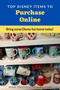 Top Disney Items to Purchase Online www.lifeinmouseyears.com #lifeinmouseyears #disneyfun #disneymerch
