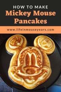 www.lifeinmouseyears.com #lifeinmouseyears #disney #mickeypancakes