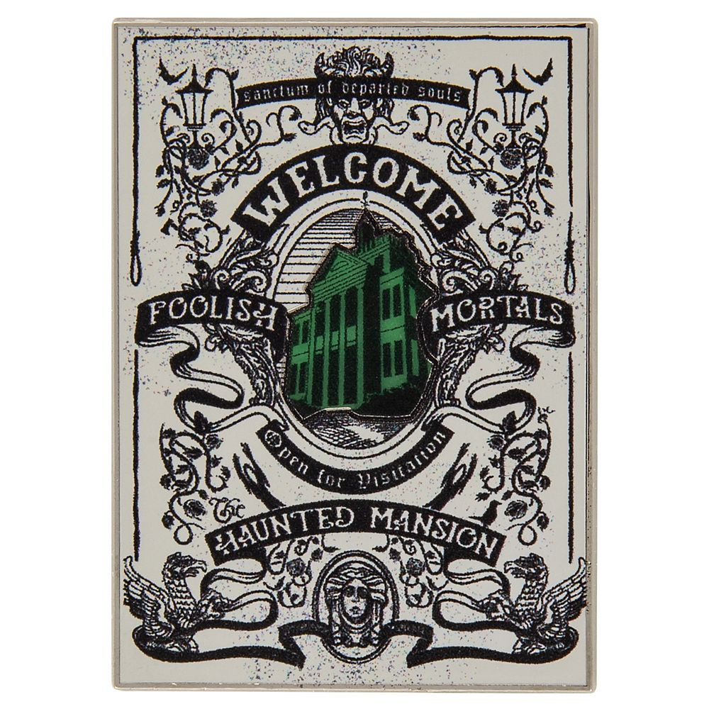 Haunted Mansion Tarot Card Pin. www.lifeinmouseyears.com #lifeinmouseyears #disneymerch #disneymerchandise