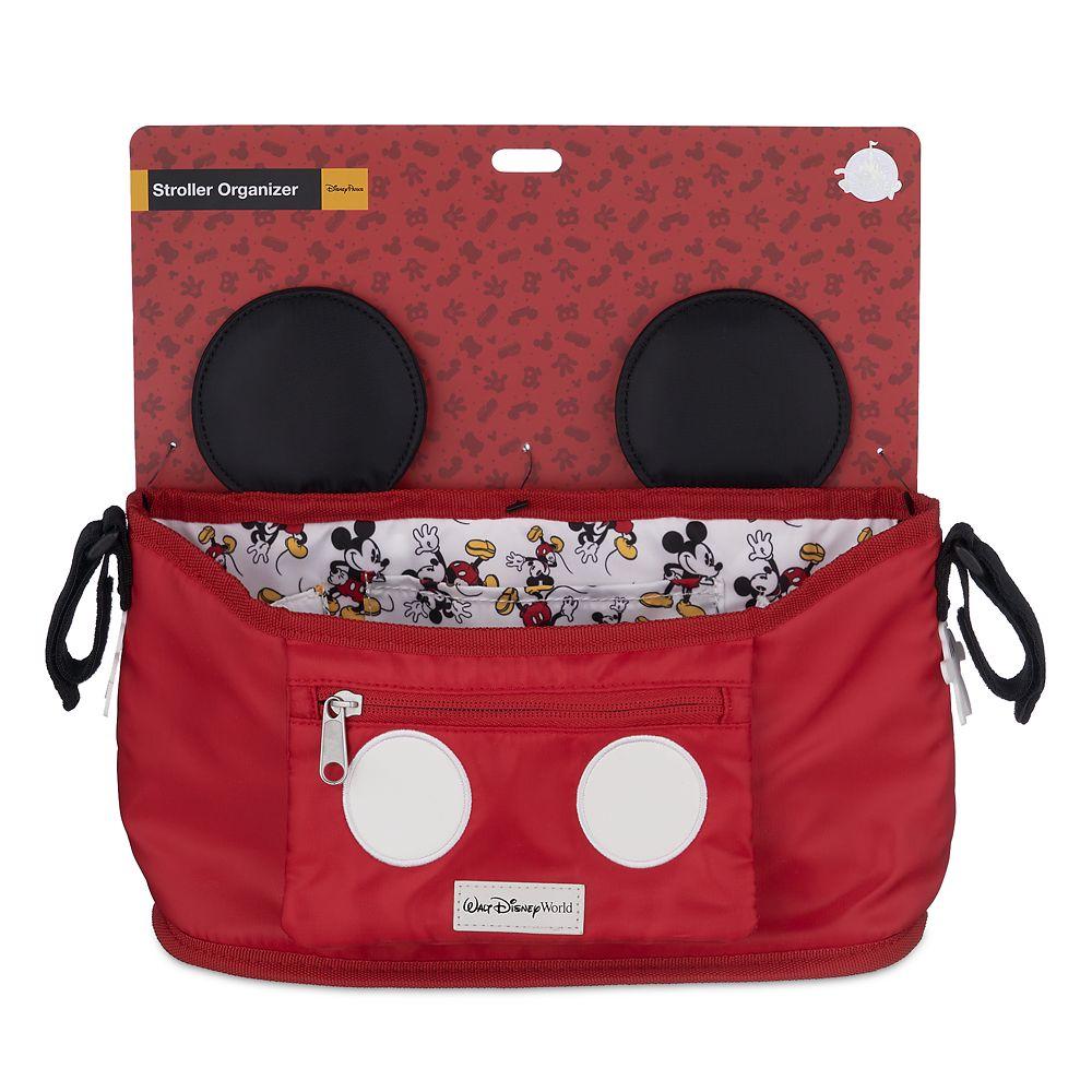Mickey Mouse stroller organizer. www.lifeinmouseyears.com #lifeinmouseyears #disneymerch #disneymerchandise