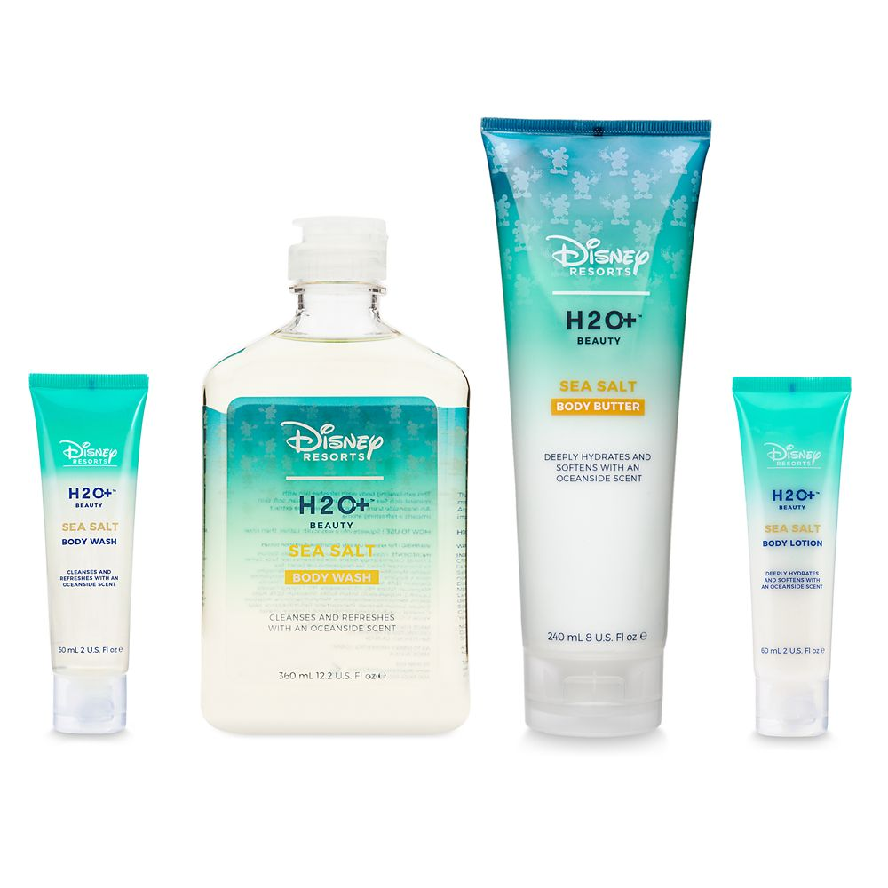 Disney H20 Plus soap and lotion.