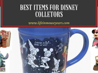 Best Items For Disney Collectors www.lifeinmouseyears.com #lifeinmouseyears #disneymerch #disneymerchandise #disneyshop