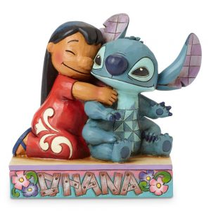 Lilo and Stitch Ohana Jim Shore Figurine. www.lifeinmouseyears.com #lifeinmouseyears #disneymerch #disneymerchandise