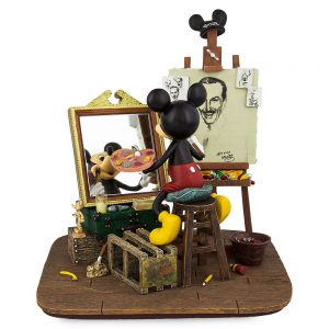 Walt and Mickey Self Portrait figurine. www.lifeinmouseyears.com #lifeinmouseyears #disneymerch #disneymerchandise
